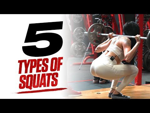 5 Types Of Squats You Should Be Doing | Mike Rashid & Allegra