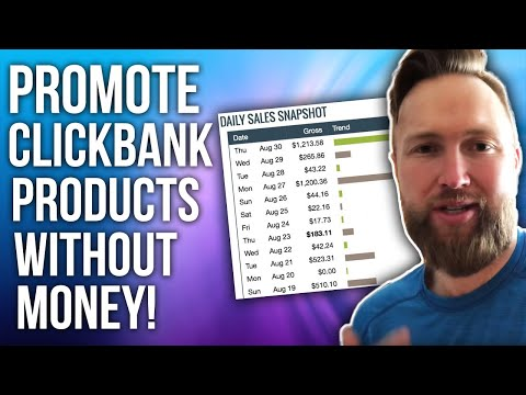 How I Promote Clickbank Affiliate Products To Make $500 Commissions PER DAY