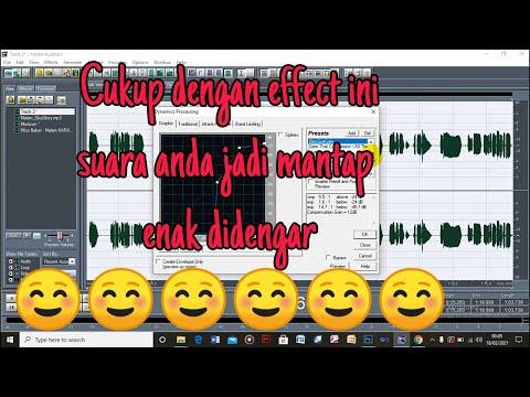 Tutorial Mixing Vokal Terbaru Di Adobe Audition 1.5 - Dijamin Enak Didengar