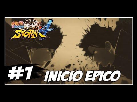 Naruto Shippuden: Ultimate Ninja Storm 4 - #1 - INÍCIO ÉPICO!!! - [Legendado PT-BR]