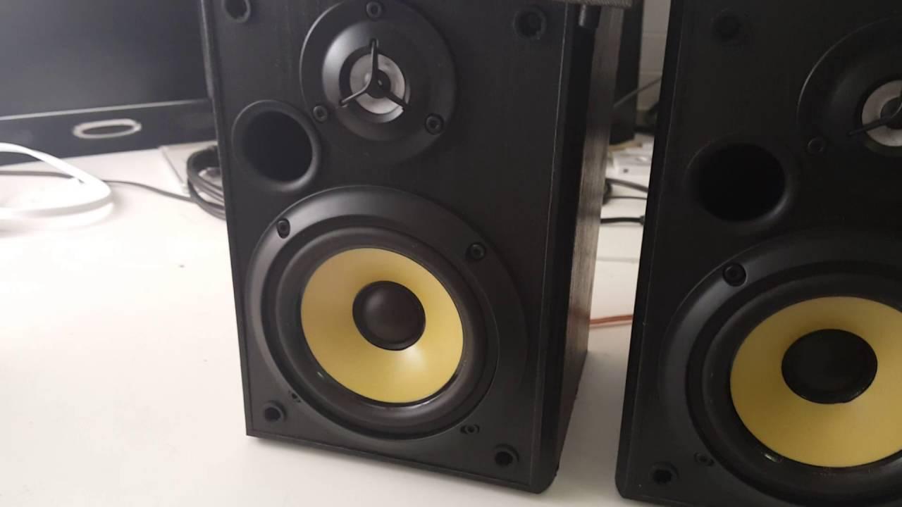 Sony SS MB150H Bookshelf Speaker Demo