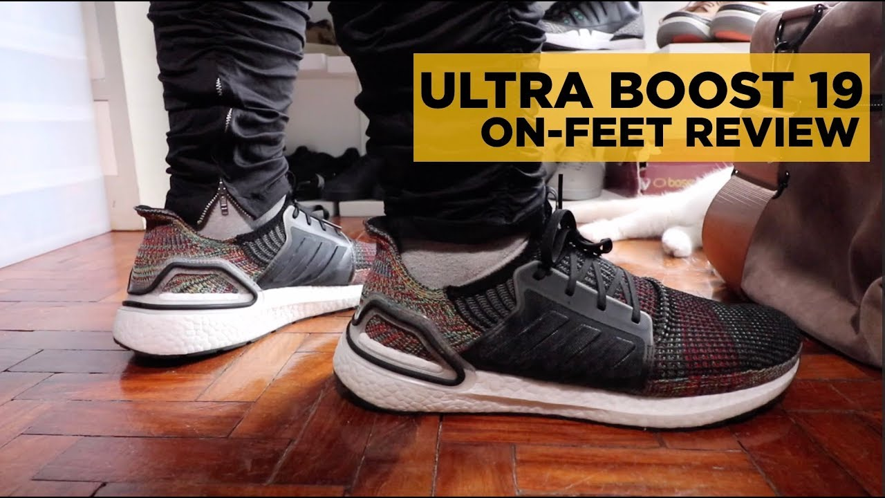 412d3a48d84d2 ADIDAS ULTRA BOOST 19 ON-FEET REVIEW - YouTube