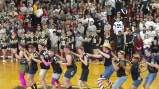2016 east davidson homecoming show rumpshakers