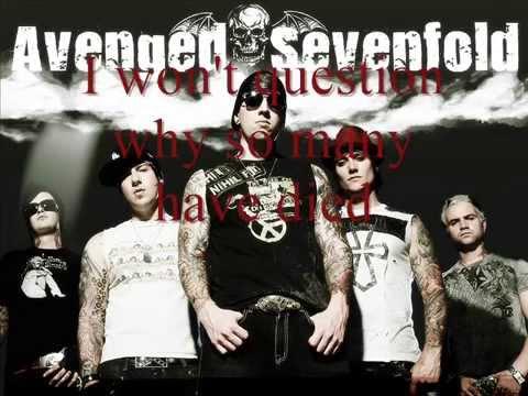 Gunslinger Avenged Sevenfold Lyrics
