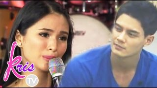 """Kris TV: Heart on Daniel Matsunaga: """"It's the first time that I'm friends with my ex"""""""