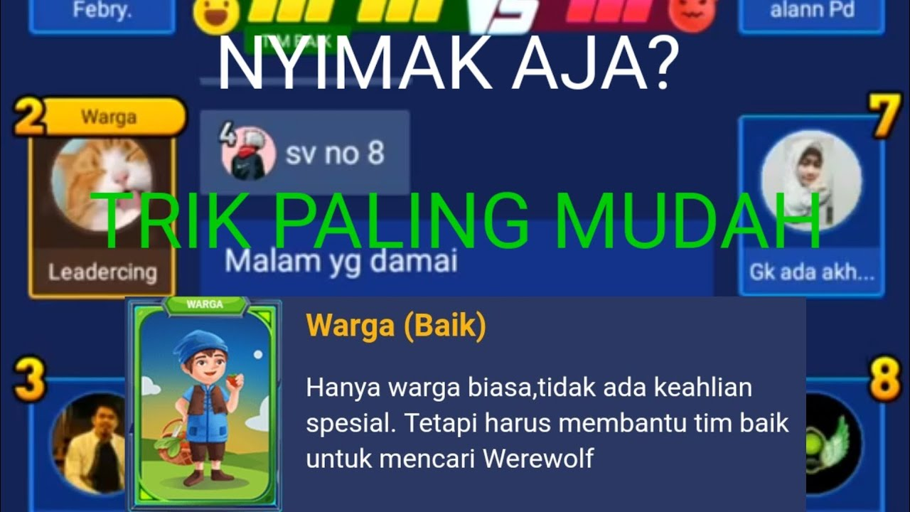 Game Werewolf Indonesia