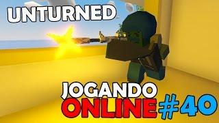 Unturned Jogando Online #40 (Ft. Dead)