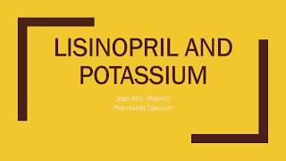 lisinopril and potassium