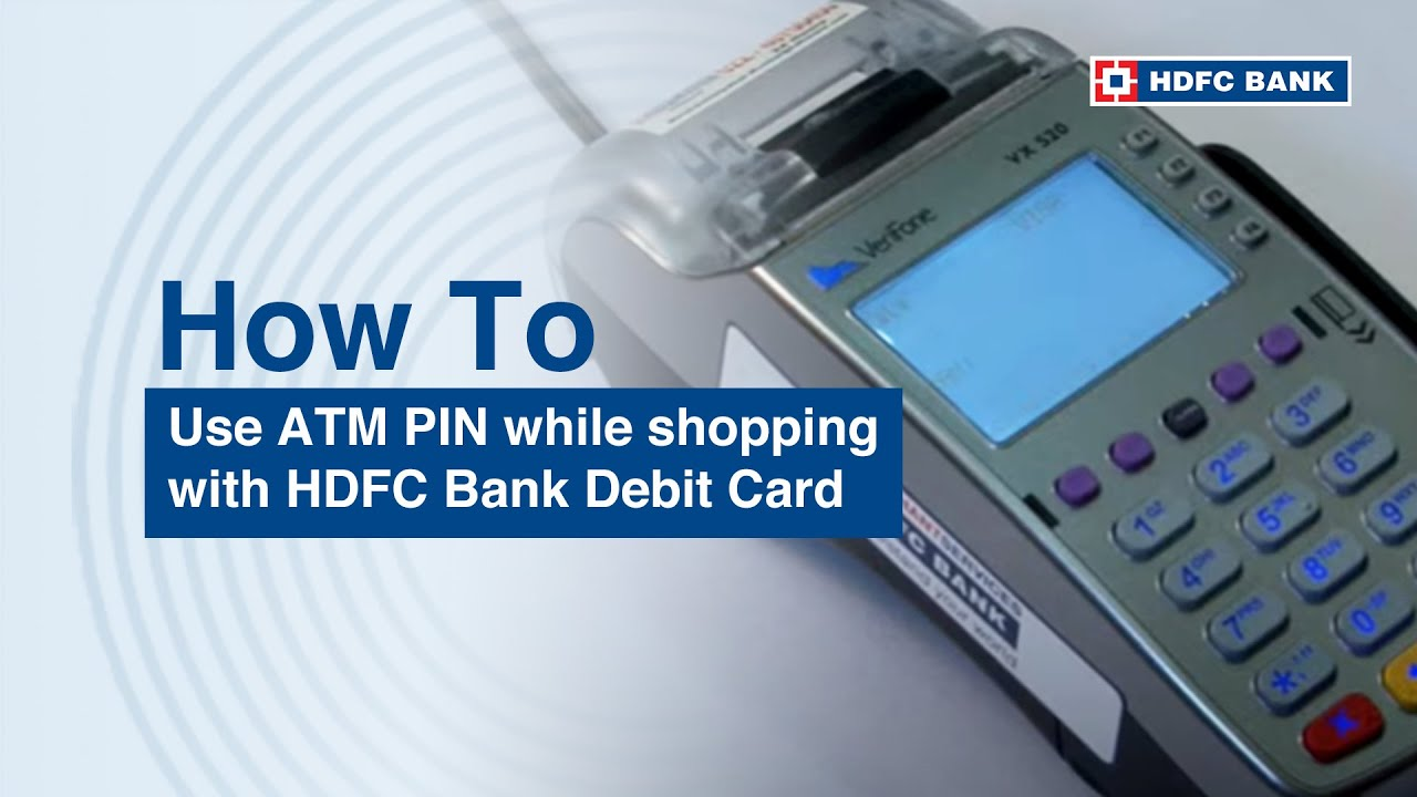 5 Steps on using your ATM PIN when you shop with your Debit Card