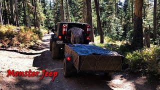 Camping at Bonney Meadows - Oregon Cascades.