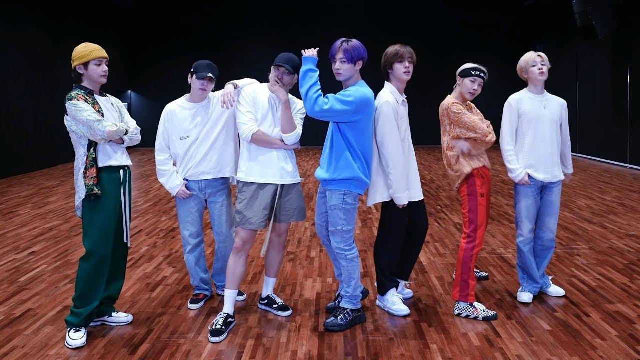 [MIRRORED] 4K BTS (방탄소년단) - 'Butter (버터)' Dance Practice (안무연습 거울모드)