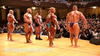 2017 IFBB Pittsburgh Pro Guest Poser Backstage Video: Phil Heath and 5 Top IFBB Pro's