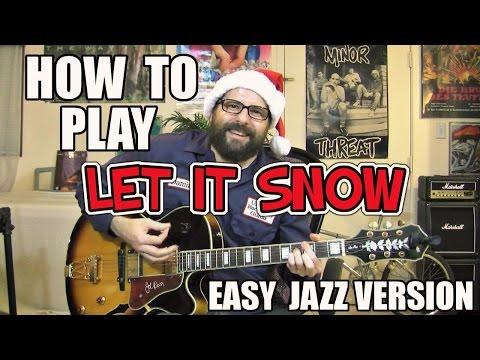 Let it Snow - easy jazz lesson