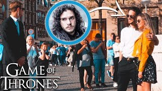 JON SNOW IN AMSTERDAM! (PRANK)