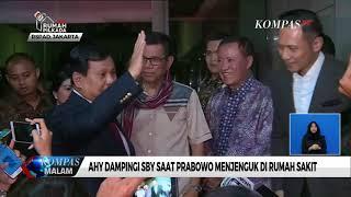Jenguk SBY di Rumah Sakit, Prabowo: Tidak Bahas Politik