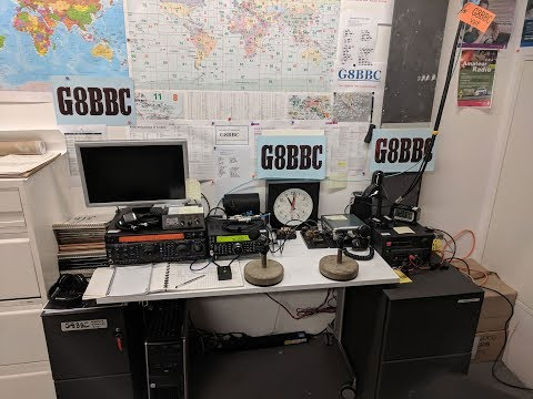 G8BBC - Official Opening of BBC Radio London Amateur Radio Station