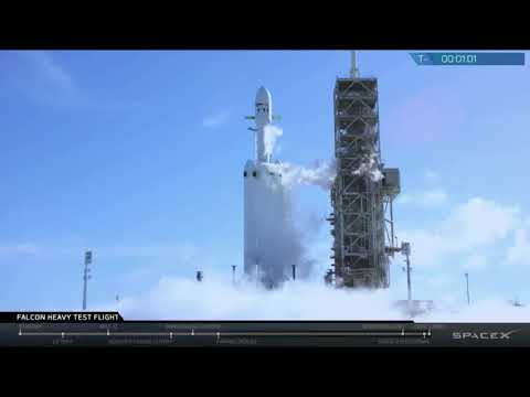Blastoff! Falcon Heavy Launches Tesla Roadster and