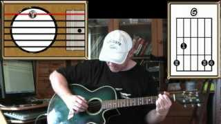 Yesterday - The Beatles - Acoustic Guitar Lesson (Detune by 2 frets)