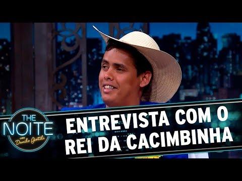 Entrevista com o Rei da Cacimbinha | The Noite (02/11/17)