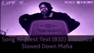 Download Too Short   Dont Fight The Feeling Slowed Down Mafia @djdoeman MP3 song and Music Video