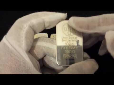 NEWBIE!! A few 100g 999+ Fine silver bullion investment bars (Silversmith)