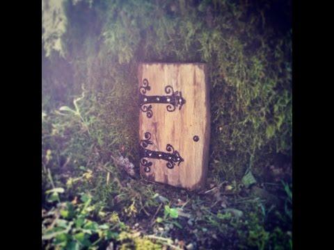 Creatively Happy Studio Presents ~ How to Build a Gnome Door