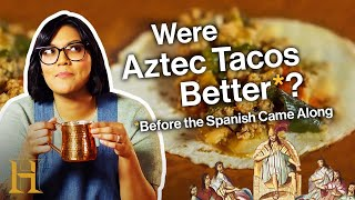 Sohla's Aztec Taco Tuesday (with Hot Chocolate!) | Ancient Recipes With Sohla | History