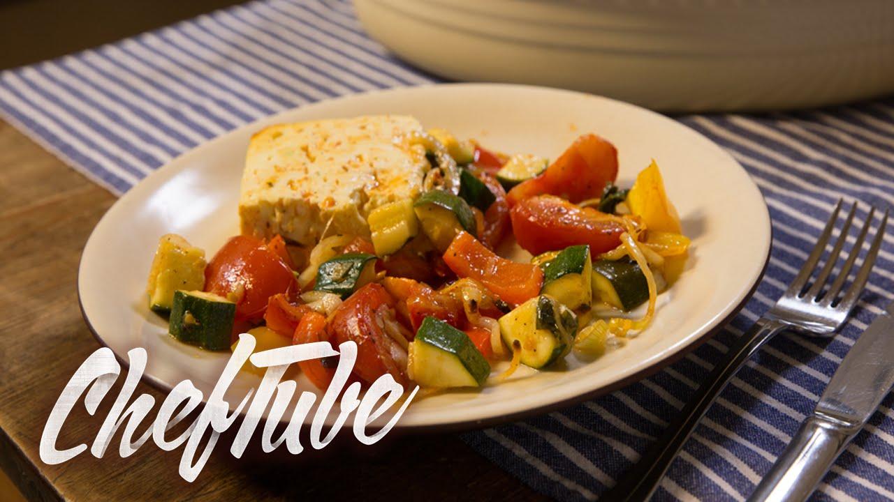 Como cocinar verduras al horno en queso receta en la - Cocinar verduras al horno ...