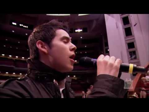 David  Archuleta  --  be still my soul