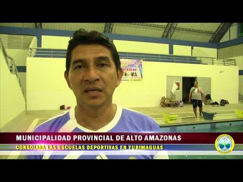 MUNICIPALIDAD PROVINCIAL DE ALTO AMAZONAS CONSOLIDA LAS  ESCUELAS DEPORTIVAS EN YURIMAGUAS