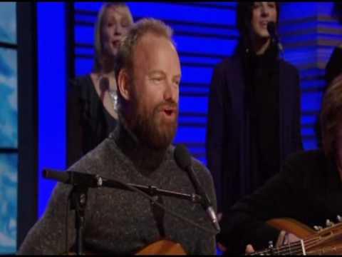 "Sting sings ""Gabriel's Message"""