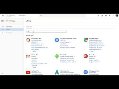 Steps To Generate Google Translator API Key For Language Translator Plugin