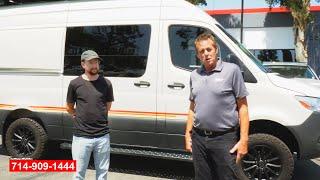 Mercedes Sprinter Camper Van Collision Repair Testimonials