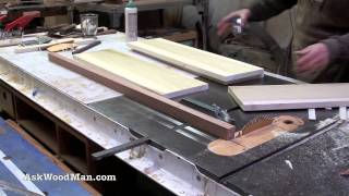 How To Make Plywood Boxes • 44 Of 64 • Woodworking Project For Kitchen Cabinets, Desks, Etc...