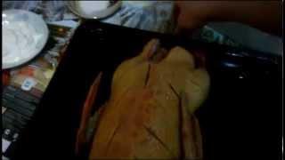 Утка в духовке. Рецепт как запеч утку в духовке. видео