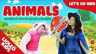 Bé học tiếng Anh về con vật l [Trọn bộ 20 chủ đề từ vựng sách Let's go] [Lioleo Kids]