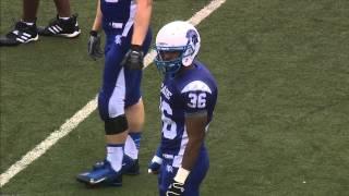 Spartan Football: Case Western Reserve University vs. University of Chicago- 1st Half
