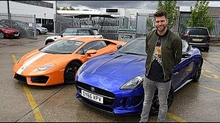 LAMBORGHINI to Jaguar with JOEL DOMMETT!!