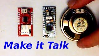Hoe Maak je Dingen Praten - Arduino-en Geluid-Module WTV020SD