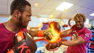 BOXING WITH KSI (NASTY FORFEIT)