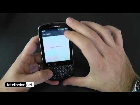 Motorola Pro+ videoreview da Telefonino.net