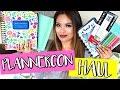 Huge PlannerCon Haul! New Planners & Giveaway | Belinda Selene