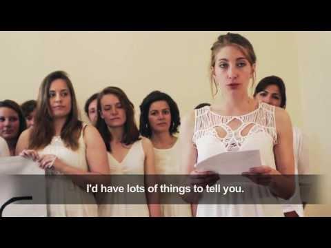The Antigones Send A Message To The Femen - Censored - Eng Subtitles