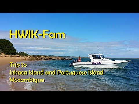 Trip to Inhaca and Portuguese Island Mozambique