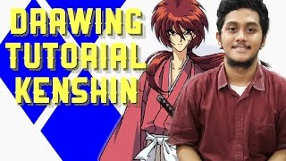 HOW TO DRAW RUROUNI KENSHIN