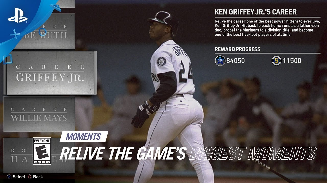 Mlb The Show 19 Moments Preview Ken Griffey Jr Willie Mays And