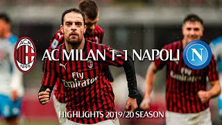 Highlights | AC Milan 1-1 Napoli | Matchday 13 Serie A TIM 2019/20