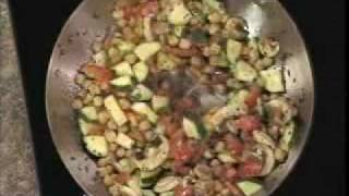 Garbanzo Stirfry - Healthy Cooking With Cindy