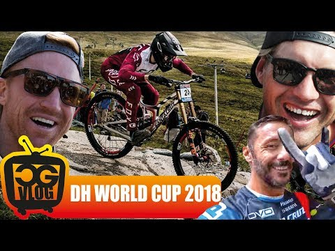 UCI DOWNHILL WORLD CUP 2018 Winners & Losers  - CG VLOG #297