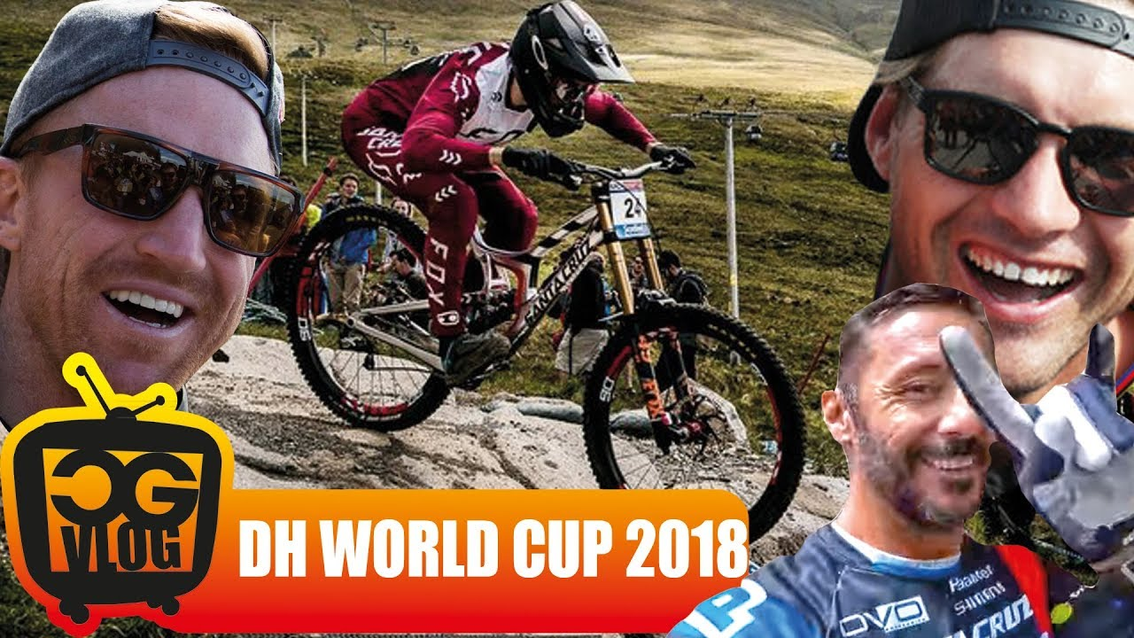 6539e50ee59 UCI DOWNHILL WORLD CUP 2018 Winners & Losers - CG VLOG #297 - YouTube
